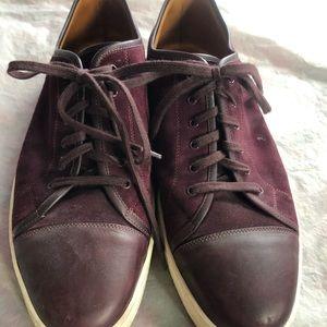 John Lobb Suede Sneakers Sz 11